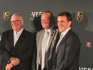 Golden Knights introduce HC Gerard Gallant