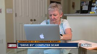CONTACT 13: Beware of 'drive-by' computer scam