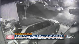 Another mailbox break-in reported in Summerlin