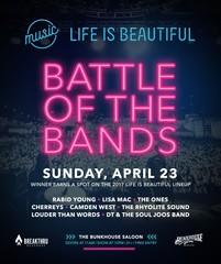 LIB Battle of the Bands happening April 23