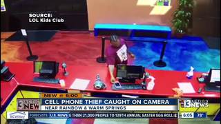 CAUGHT ON CAMERA: Phone stolen at LOL Kids Club