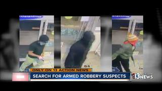 UPDATE: Video shows armed robbery in Henderson