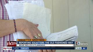SQUATTERS: Elderly woman feels unsafe in home