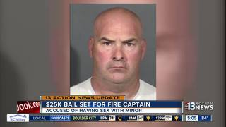 UPDATE: Judge sets bail for fire captain