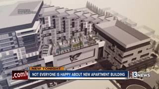 Neighbors upset with proposed downtown high-rise