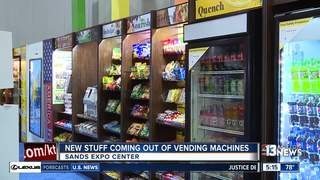 New vending machines on display at annual show