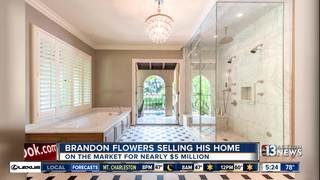 The Killers' Brandon Flowers selling Vegas home