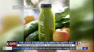 The Juice Standard celebrates Earth Day