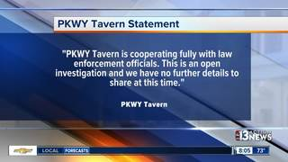 Shots fired at PKWY Tavern