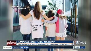 Girl Nation hosts seminars to empower girls