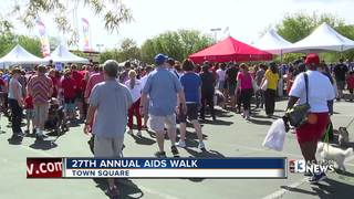 Thousands attend annual AIDS Walk at Town Square