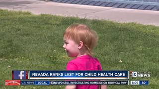 Study says NV worst state for children's health