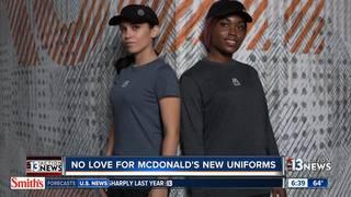 McDonalds to debut new employee uniforms
