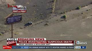 Body found off Boulder Hwy. decaying for months