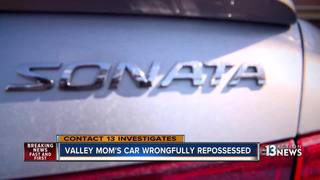 CONTACT 13: Family car wrongfully repossesed