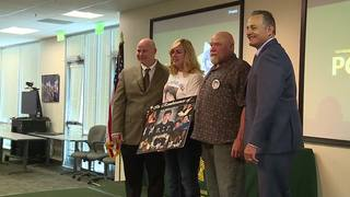Detectives honored for work on teen's murder