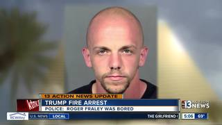 UPDATE: Bail set for Trump hotel fire suspect
