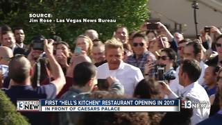 Ramsay opening first Hell's Kitchen restaurant