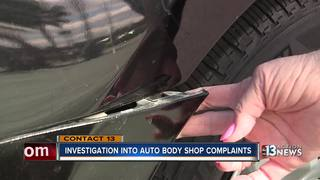 CONTACT 13: Body shop fined after investigation