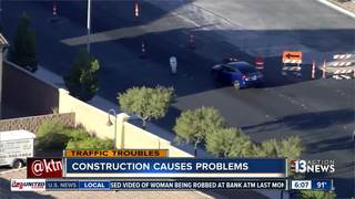 Fort Apache road work causing headaches
