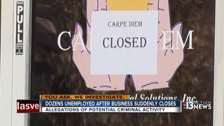 Employees concerned after adult day care closure