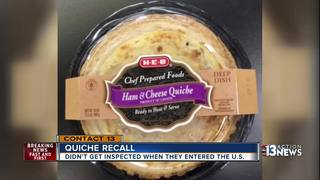 Canadian ready-to-eat quiche recalled