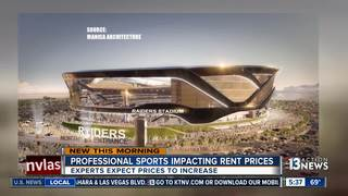 Raiders effect driving rental prices up
