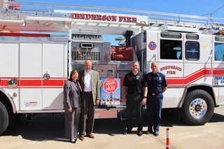 Firefighters launch heat safety campaign