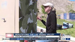 County program turns utility boxes into art