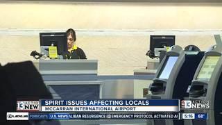 Spirit Airlines cancelations impacting McCarran