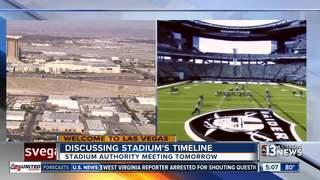 Stadium Authority to discuss Raiders timeline