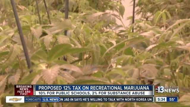Nevada Senate Democrats advance pot tax