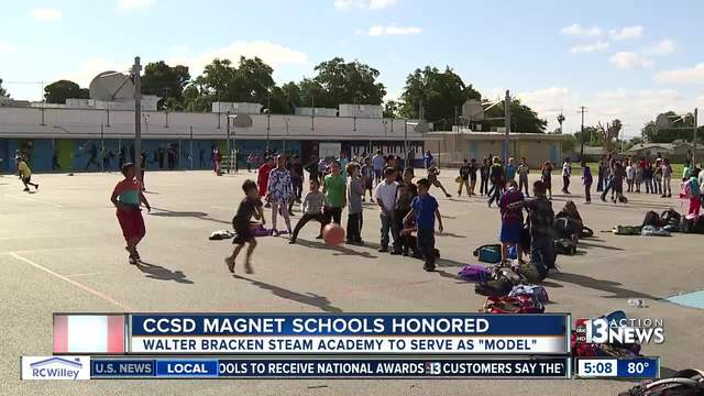Las Vegas valley magnet schools awarded, used as models for others