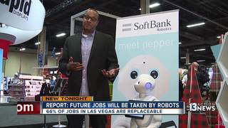 New report says robots will take over Vegas jobs