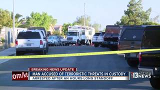 Man wanted in NYC leads to Las Vegas standoff