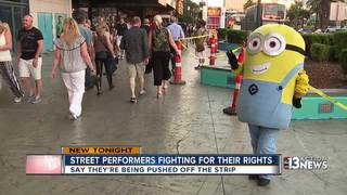 Street performers push for place on Vegas Strip