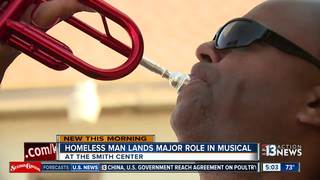 Homeless man lands major role in musical