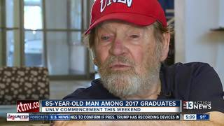 85-year-old man among UNLV students graduating