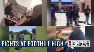 Foothill principal sends message after fights