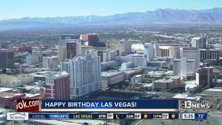 City of Las Vegas celebrates 112th birthday
