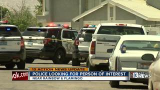 Person of interest no longer sought in shooting