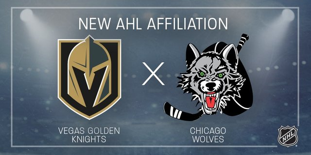 Vegas Golden Knights secure AHL's Chicago Wolves