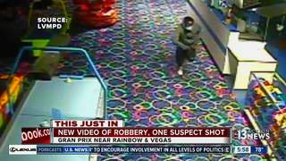 Family fun employee shoots would-be robber