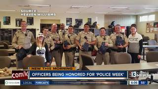Officers being honored for National Police Week