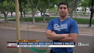 Friends robbed at gun point at Summerlin park