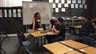 Western teacher strives to keep students engaged
