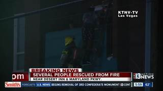 Facility open to residents displaced in fire
