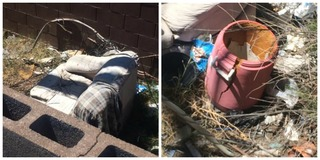 Henderson woman asked to clean up alley