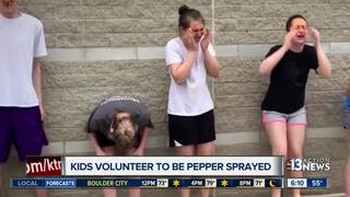 Ohio HS students get pepper-sprayed