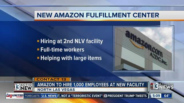 Amazon Hiring 500 Employees For North Las Vegas Facility